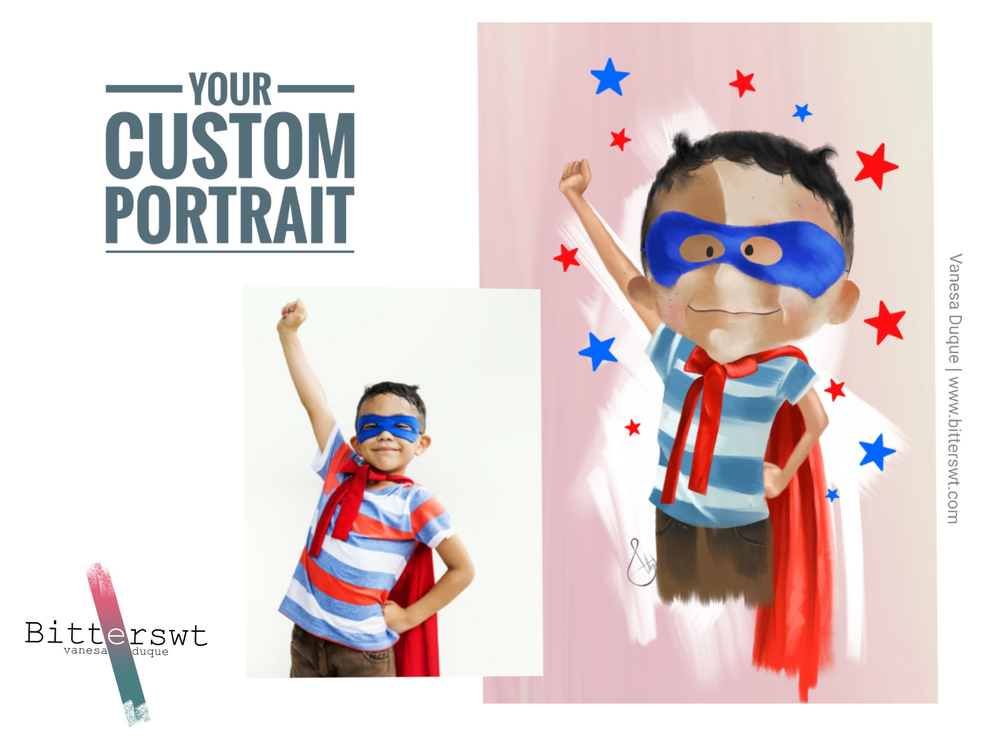 Retratos ilustrados